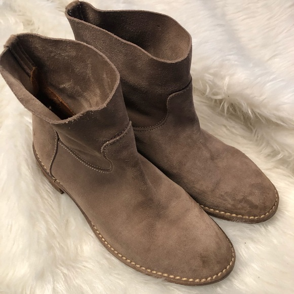 Buttero Suede Ankle Boots Size 37